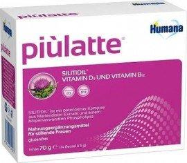 Humana Piulatte 70gr φακελίσκοι 14 x 5gr