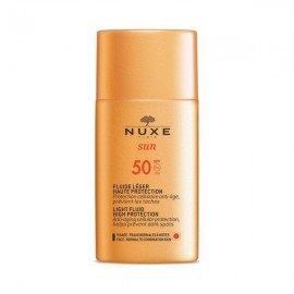Nuxe Sun Light Fluid High Protection Αντηλιακό Προσώπου SPF50 50 ml