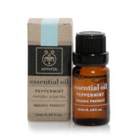 Apivita Essential Oil, Αιθέριο Έλαιο με Μέντα 5ml