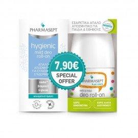 Pharmasept Promo Hygienic Deo Mild Roll-On 24h 50ml & Kid Care Extra Mild Deo Roll-On 50ml