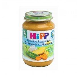 Hipp Ποικιλία Λαχανικών βιολογικής καλλιέργειας 190 gr