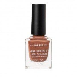 Korres Gel Effect Nail Colour 37 Frozen Mocha 11 ml