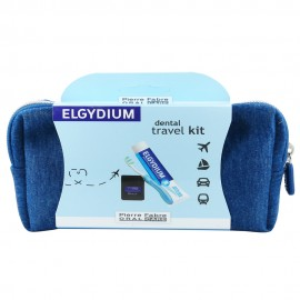 Elgydium Dental Travel Kit Blue