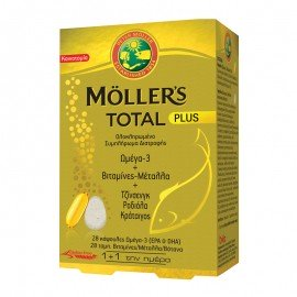 Mollers Total Plus 28 ταμπλέτες 28 κάψουλες