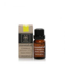 Apivita Essential oil Βιολογικό αιθέριο έλαιο Citronella 10 ml