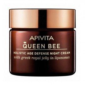 Apivita Queen Bee, Kρέμα Νύχτας Ολιστικής Αντιγήρανσης, 50ml