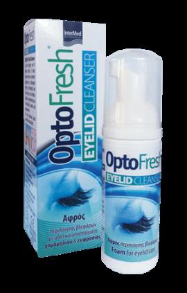 Intermed Optofresh Eyelid cleanser 50 ml