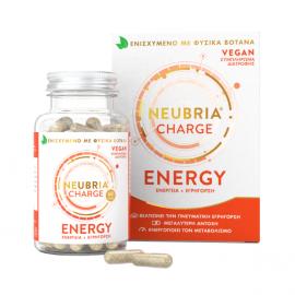 Neubria Charge Energy Supplement 60 κάψουλες