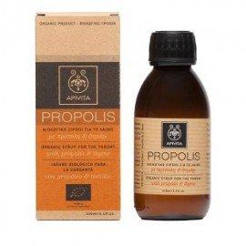 Apivita Propolis Βιολογικό Σιρόπι για το Λαιμό με πρόπολη & θυμάρι 150ml