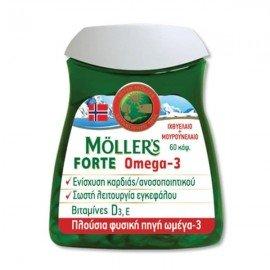 Mollers Omega-3 Forte 60 caps