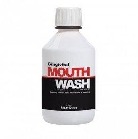 Frezyderm Gingivital Mouthwash Φθοριούχο Στοματικό Διάλυμα - Αντιμετώπιση Συμπτωμάτων Ουλίτιδας 250ml