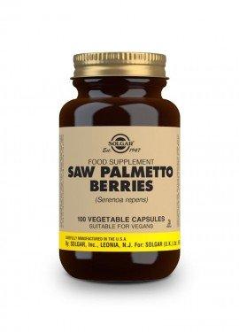 Solgar Saw Palmetto Berries, Σκεύασμα για τη Φυσιολογική Λειτουργία του Ουροποιητικού Συστήματος 100 φυτικές κάψουλες