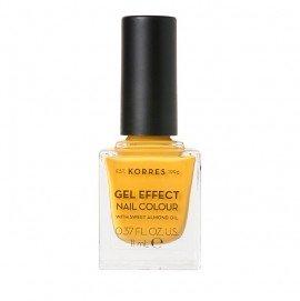 Korres Gel Effect Nail Colour 91 Sunshine 11 ml