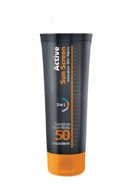 Frezyderm Active Sun Screen Sensitive Face-Body SPF50 150 ml