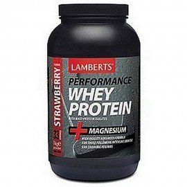Lamberts Performance Whey Protein with Magnesium, Γεύση Φράουλα 1000gr