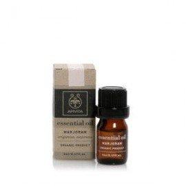 Apivita Essential oil Βιολογικό αιθέριο έλαιο Ματζουράνα 5 ml