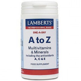 Lamberts A to Z Multivitamins Πολυβιταμίνη 30 Ταμπλέτες