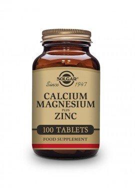 Solgar Calcium Magnesium Plus Zinc 100 tabs