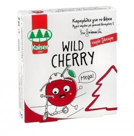 Kaiser Wild Cherry Παιδικές Καραμέλες για τον Βήχα Χωρίς Ζάχαρη με Γεύση Κεράσι 50gr