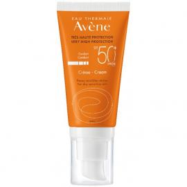Avene Soins Solaires Creme SPF50+, Αντηλιακή Προσώπου για Ξηρές/Πολύ Ξηρές Επιδερμίδες 50ml