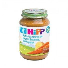 Hipp Βοδινό με Πατάτες & Καρότα 190 gr
