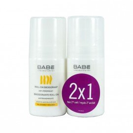 Babe Roll On Deodorant 50ml 1+1 ΔΩΡΟ