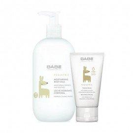 Babe Promo Pediatric Moisturizing Body Milk 500ml & ΔΩΡΟ Facial Balm Καταπραυντική-Ενυδατική Προσώπου 50ml