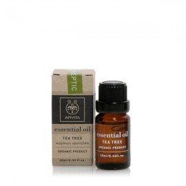 Apivita Essential Oil Tea Tree, Αιθέριο Έλαιο με Τεϊόδενδρο 10ml