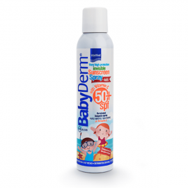 Intermed Babyderm Invisible Sunscreen Spray SPF50+ 200 ml