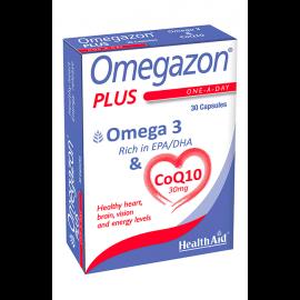 Health Aid Omegazon Plus Omega & CoQ10 30 caps