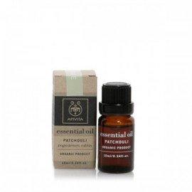 Apivita Essential oil Βιολογικό αιθέριο έλαιο Πατσουλί 10 ml