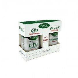 Power Health Promo Classics Platinum Range Vitamin C+D3 1000mg 30 ταμπλέτες & Vitamin C 1000mg 20 ταμπλέτες