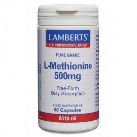 Lamberts L-Methionine Μεθειονίνη 500mg 60 Caps
