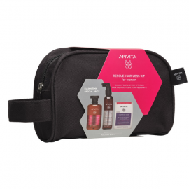 Apivita Rescue Hair Loss Kit for Women Tonic Shampoo 250 ml + Hair Loss Lotion 150 ml + Caps For Hair 30 caps