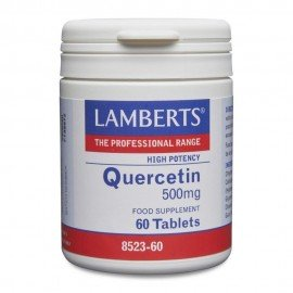 Lamberts Quercetin 500mg, Κερσετίνη Φλαβονοειδές με ισχυρή Αντιοξειδωτική Δράση, 60tabs
