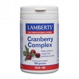 Lamberts Cranberry Complex Powder, Συμπλήρωμα Διατροφής Cranberry σε Σκόνη 100gr