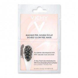 Vichy Μάσκα Διπλής Λάμψης & Απολέπισης για Ευαίσθητες Επιδερμίδες 2x6ml