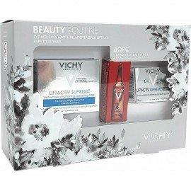 Vichy Promo Liftactiv Supreme Dry To Very Dry Skin 50 ml & Liftactiv Supreme Night 15 ml & Liftactiv Glyco- C Αμπούλα Νύχτας 2 ml