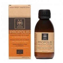 Apivita Propolis Βιολογικό σιρόπι για το λαιμό πρόπολη & θυμάρι 150 ml