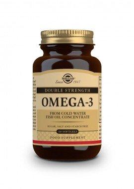 Solgar OMEGA-3 Double Strength, 60 Softgels