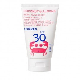 Korres Coconut & Almond Baby Sunscreen SPF30 100 ml