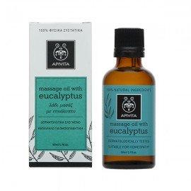 Apivita Eucalyptus Λάδι Μασάζ για το Χειμώνα με ευκάλυπτο & δεντρολίβανο 50ml