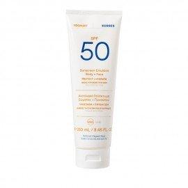 Korres Yoghurt Sunscreen Emulsion Face & Body SPF50 250ml