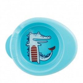 Chicco Warmy Plate, Πιάτο Θερμός Μπλε 6m+