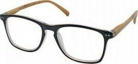 Eyelead Γυαλιά Διαβάσματος Unisex Μαύρο Κοκκάλινο με Ξύλινο Βραχίονα E211