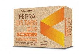Genecom Terra D3 Plus 2000 IU 60 soft gels