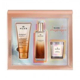 Nuxe Charismatique Gift Set Prodigieux le parfum 50 ml & Prodigieux Lait Parfume Body Lotion 100 ml & Boogie Prodigieux 70 gr
