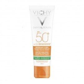 Vichy Capital Soleil Mattifying 3 in 1 Daily Shine Control Care SPF50+ 50 ml