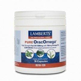 Lamberts Pure OracOmega 760mg Ωμέγα 3 λιπαρών οξέων & Φυτικά Αντιοξειδωτικά 30 Capsules