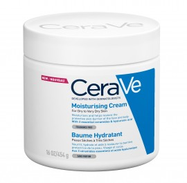 CeraVe Moisturizing Cream dry very dry skin 454 ml